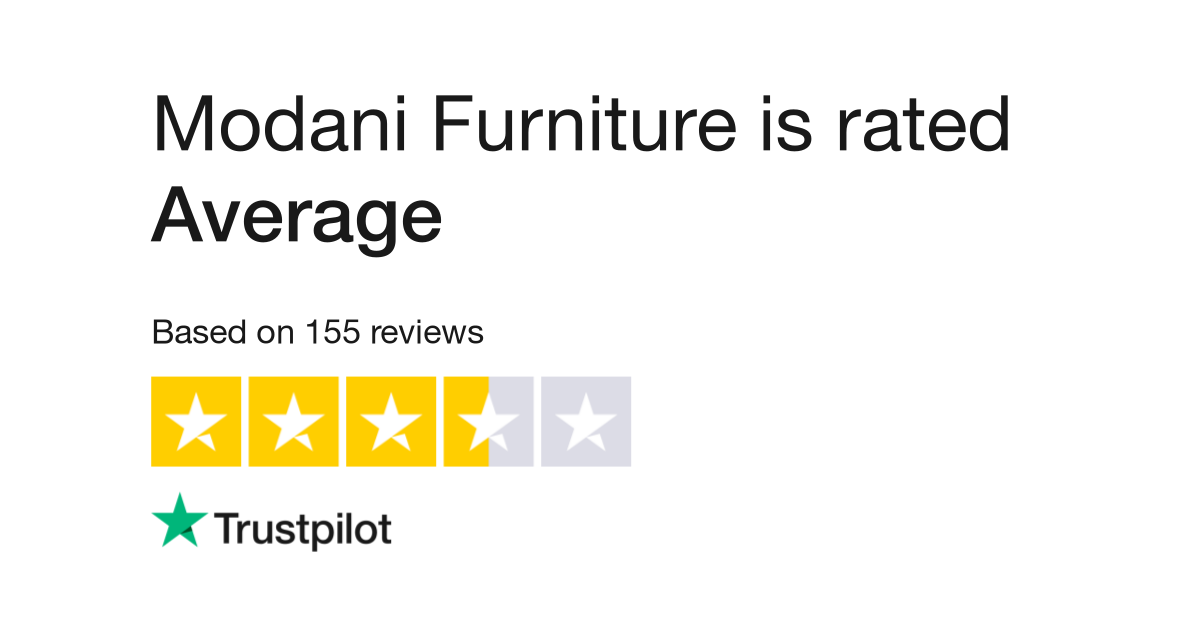 Modani Furniture Reviews Read Customer Service Of Com