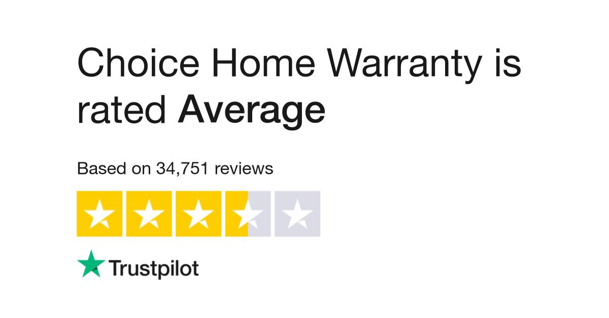 Choice Home Warranty Vendor Login >> Choice Home Warranty Reviews Read Customer Service Reviews Of Www