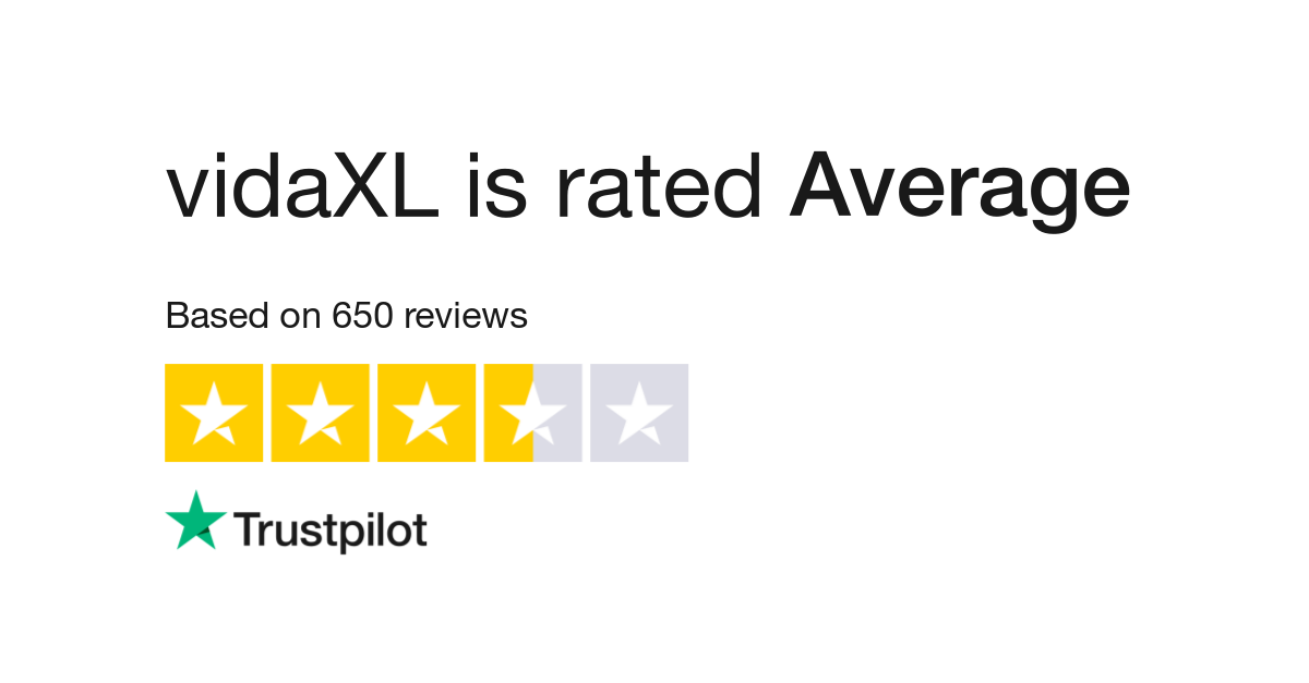 vidaxl reviews | read customer service reviews of vidaxl