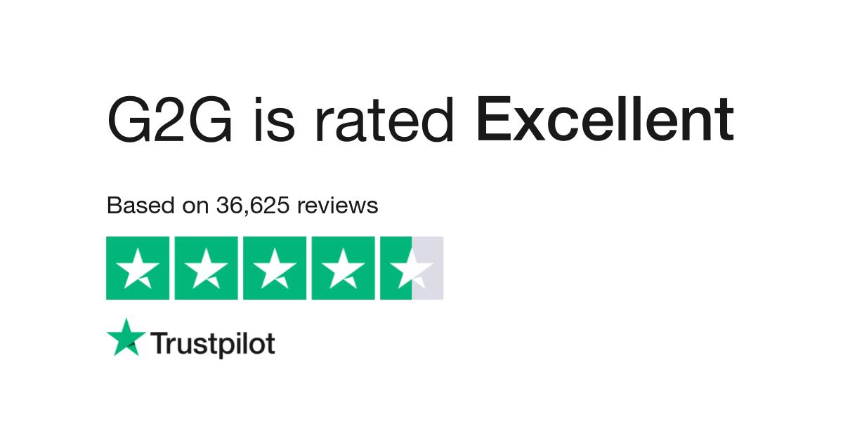G2G Reviews   Read Customer Service Reviews of www g2g com
