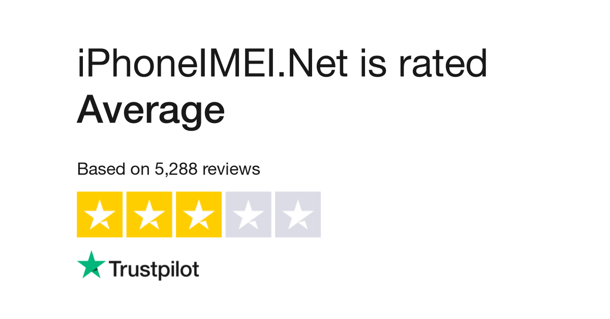 iPhoneIMEI Net Reviews | Read Customer Service Reviews of iphoneimei net