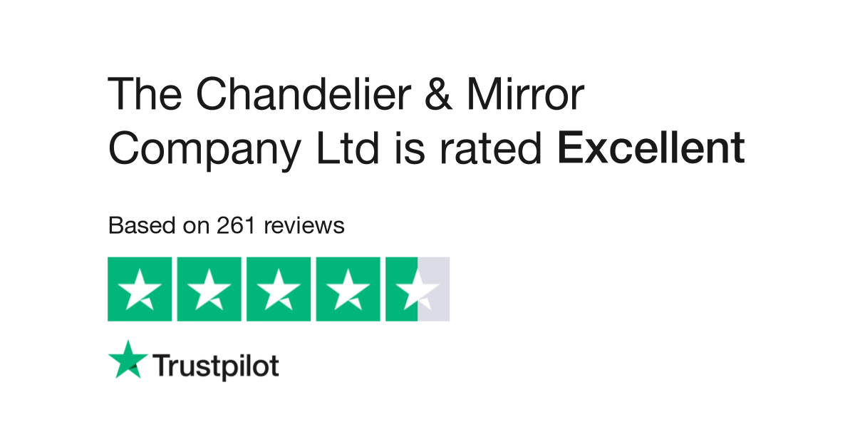 The Chandelier Mirror Company Ltd Reviews Read Customer Service Of Chandeliersandmirrors Co Uk