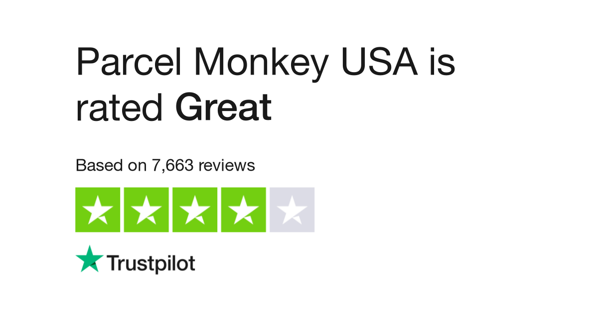 Parcel Monkey USA Reviews | Read Customer Service Reviews of