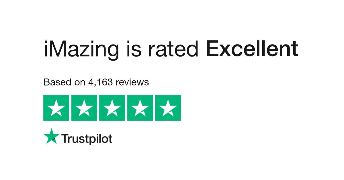 iMazing Reviews | Read Customer Service Reviews of imazing com