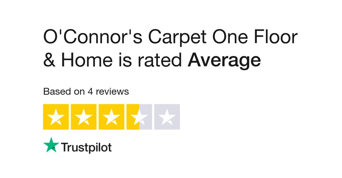 O Connor S Carpet One Floor Home Reviews Read Customer Service Of Www Oconnorscarpetonesaginaw