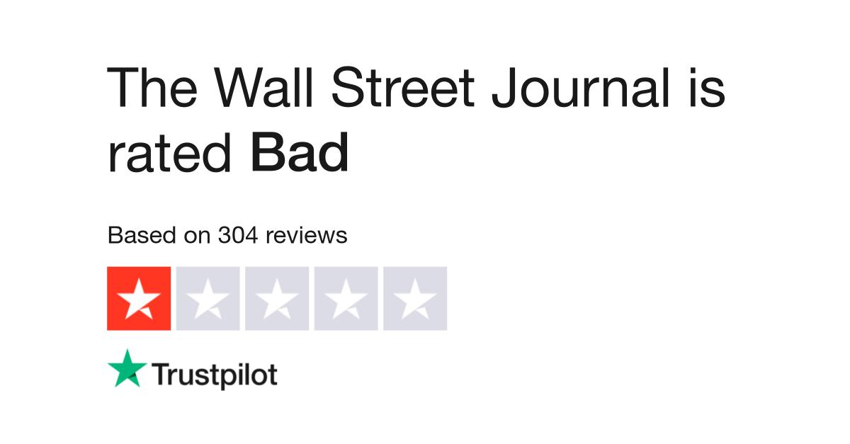 The Wall Street Journal Reviews | Read Customer Service