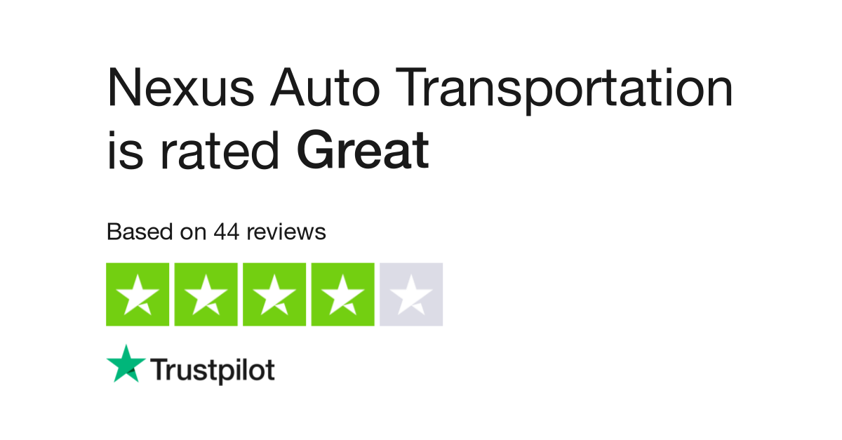 Nexus Auto Transport Reviews | Read Customer Service Reviews