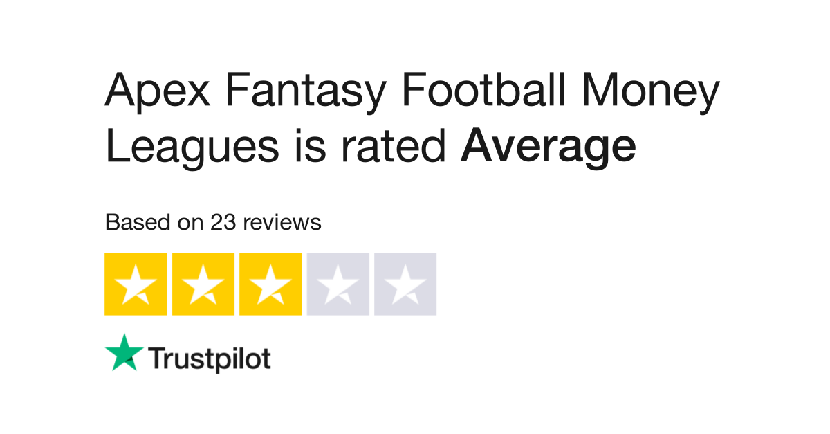 Apex Fantasy Football Money Leagues Reviews | Read Customer
