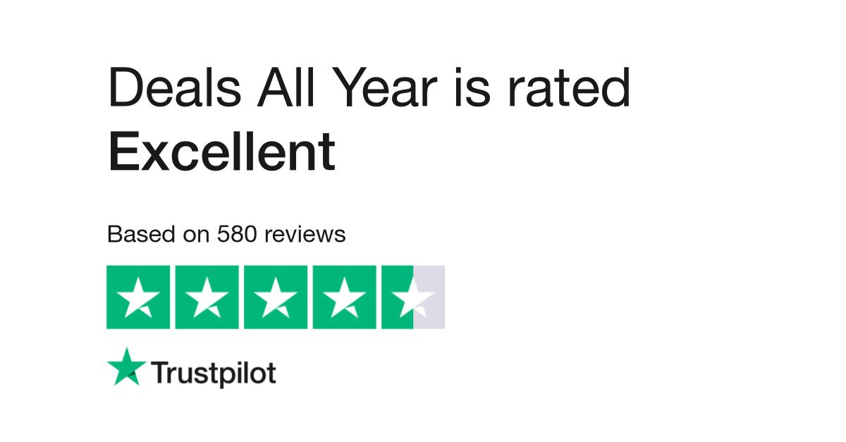 Deals All Year Reviews Read Customer Service Reviews Of Dealsallyear Com