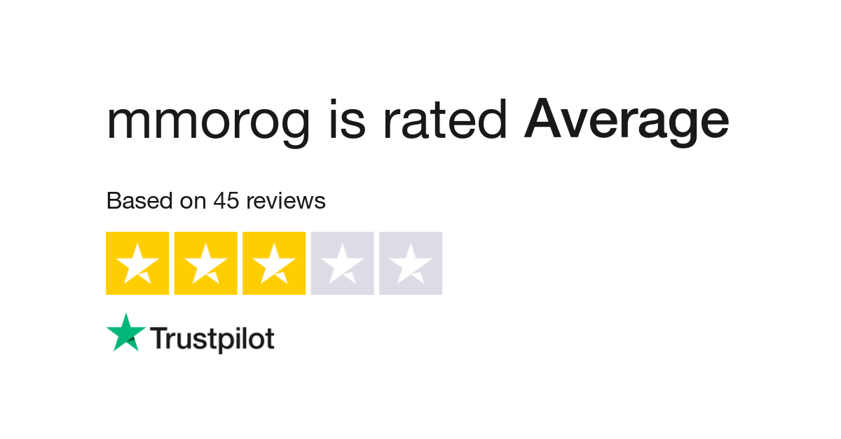 mmorog Reviews | Read Customer Service Reviews of mmorog com