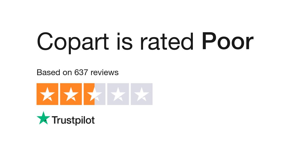 Copart Com Review >> Copart Reviews Read Customer Service Reviews Of Copart Com