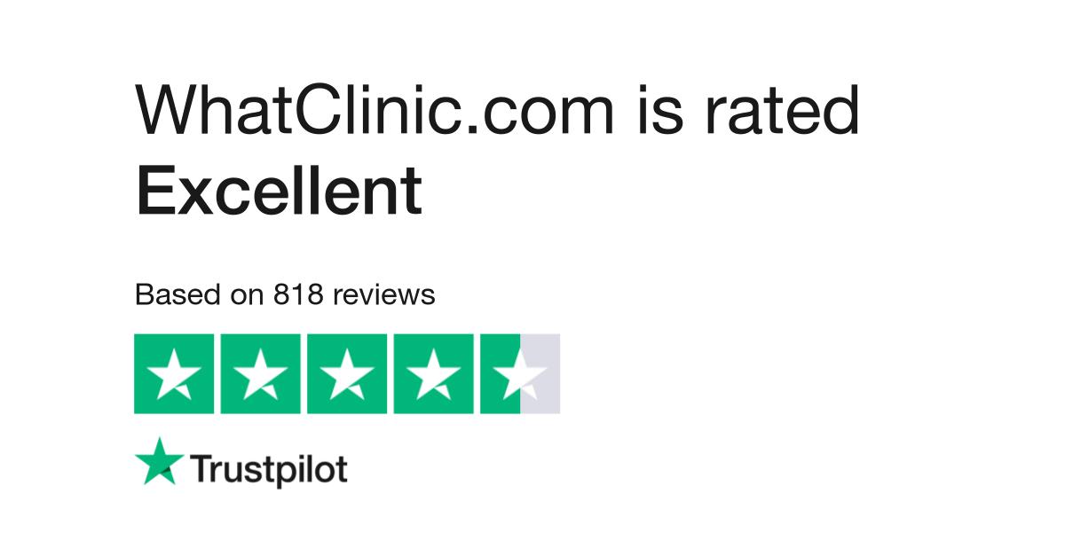 WhatClinic com Reviews   Read Customer Service Reviews of