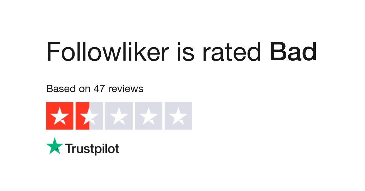 Followliker Reviews | Read Customer Service Reviews of followliker com