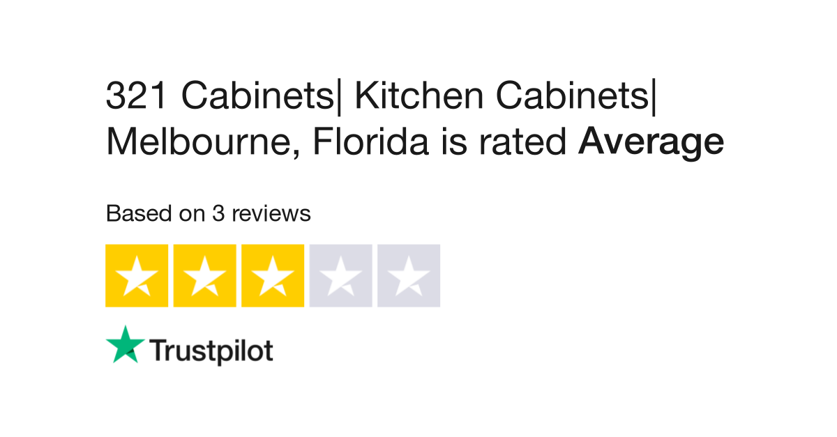 321 Cabinets| Kitchen Cabinets| Melbourne, Florida Reviews ...