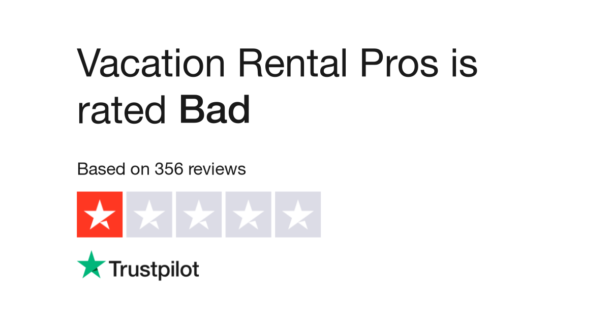 Vacation Rental Pros Reviews Read Customer Service Reviews Of
