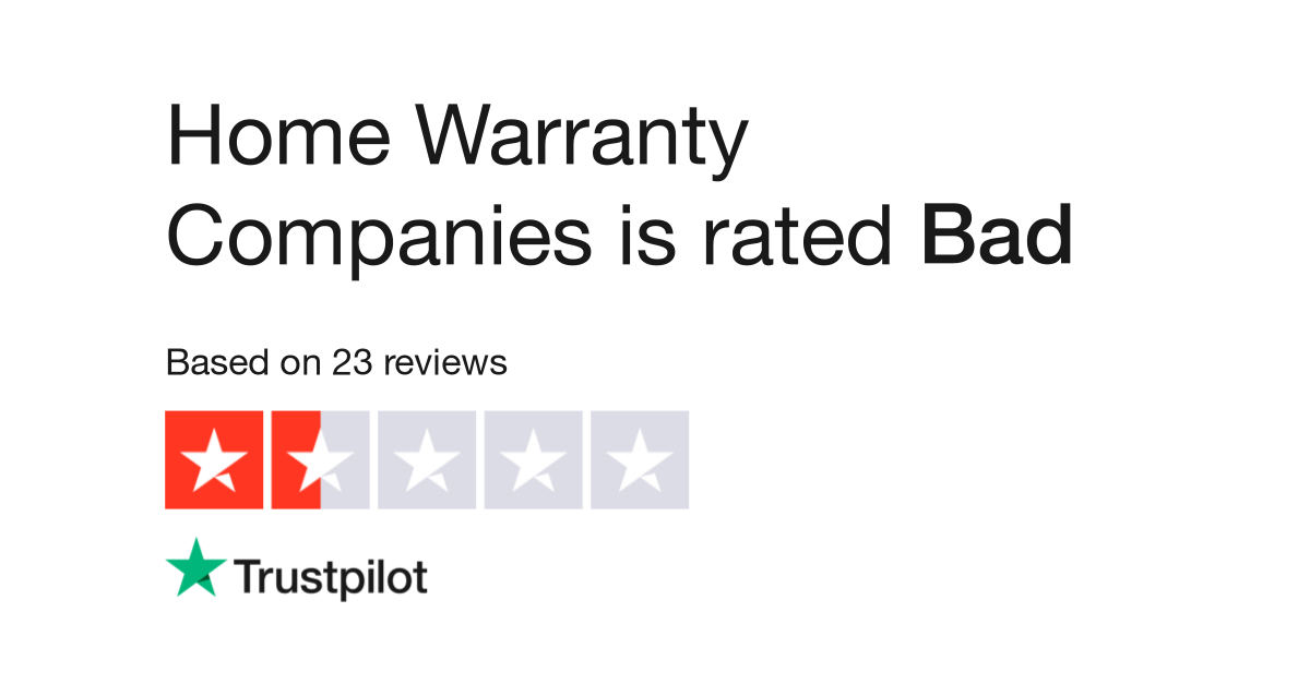 Home Warranty Companies >> Home Warranty Companies Reviews Read Customer Service