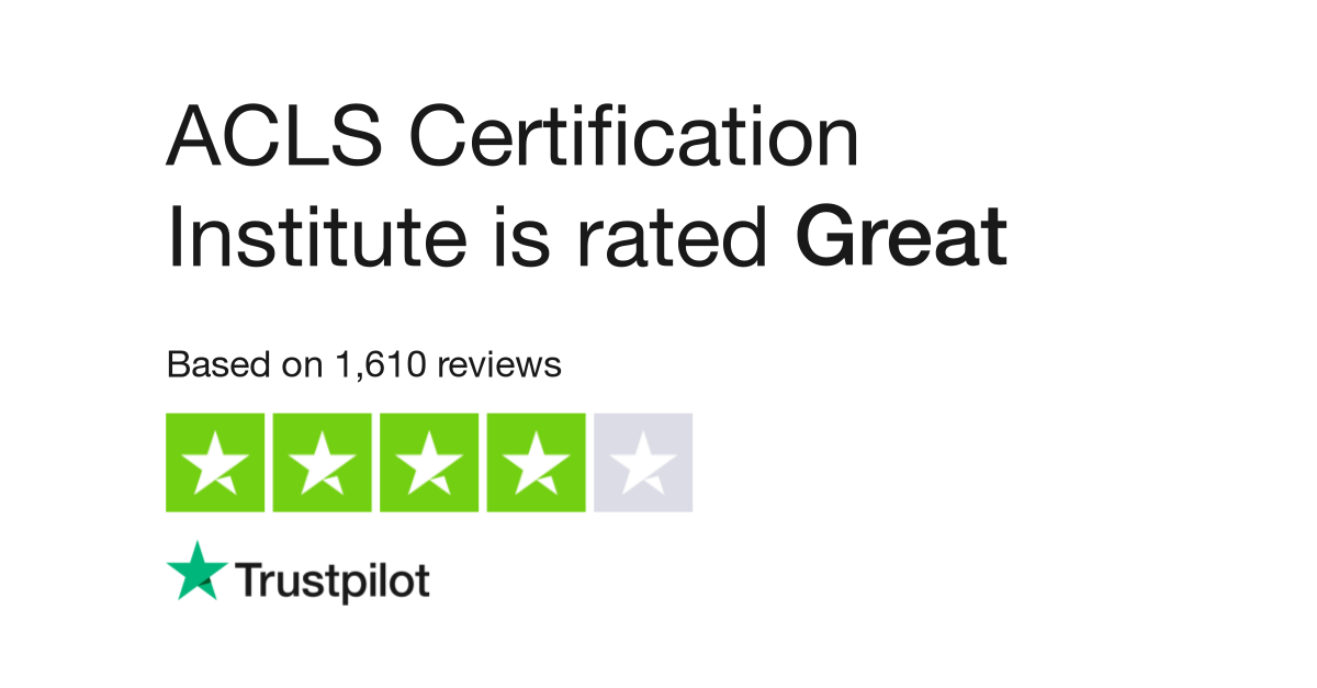 Acls Certification Institute Reviews Read Customer Service Reviews