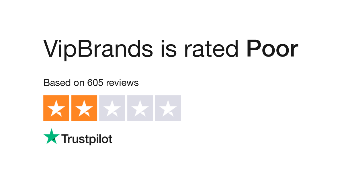VipBrands Reviews | Read Customer Service Reviews of www