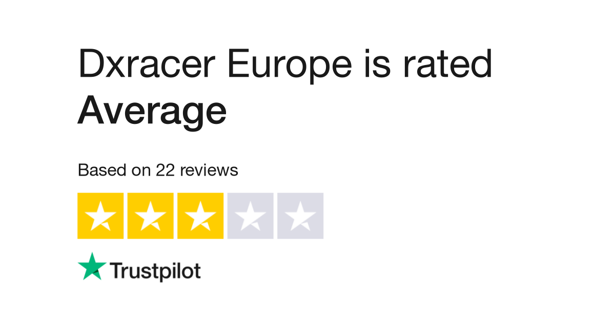 Dxracer Europe Reviews | Read Customer Service Reviews of