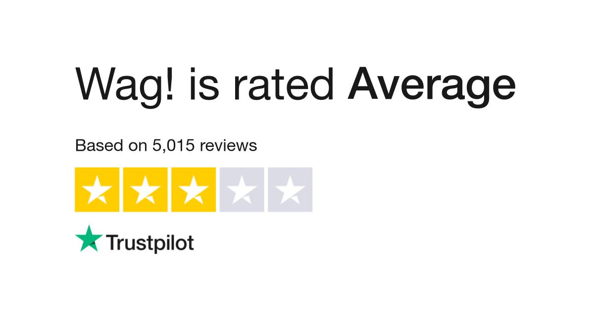 Wag! Reviews   Read Customer Service Reviews of wagwalking com