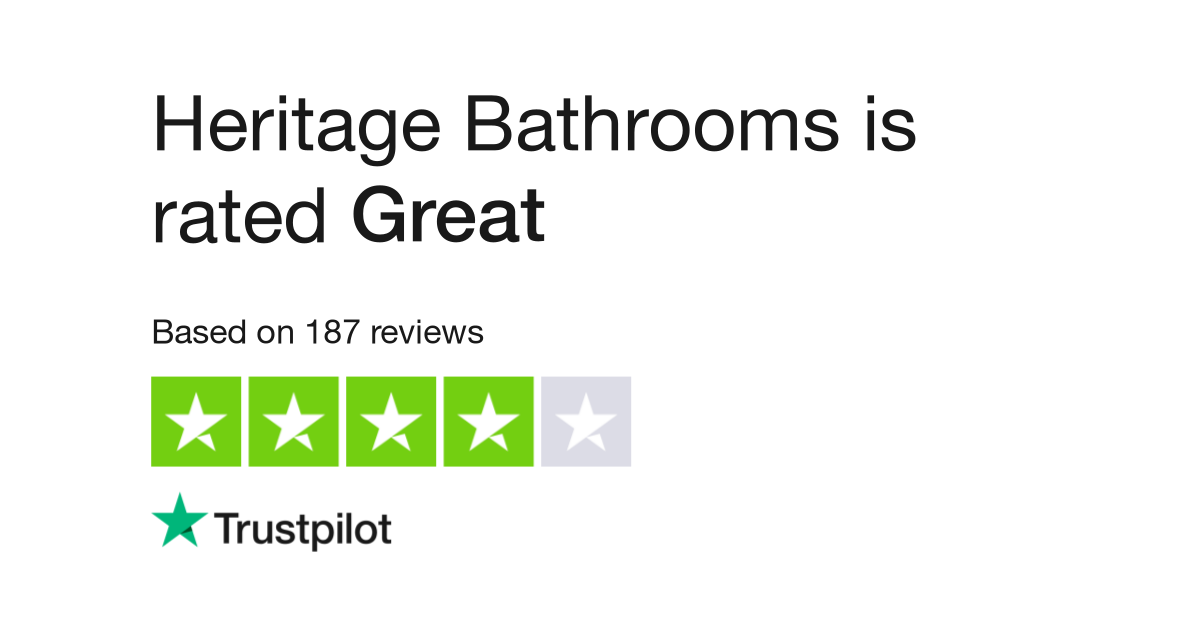 Magnificent Heritage Bathrooms Reviews Read Customer Service Reviews Evergreenethics Interior Chair Design Evergreenethicsorg