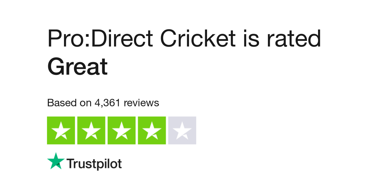Pro Direct Cricket Reviews Read Customer Service Reviews