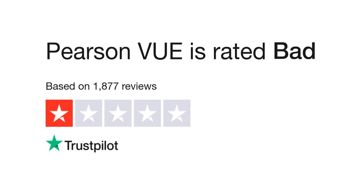 Pearsonvue Reviews Read Customer Service Reviews Of Pearsonvue