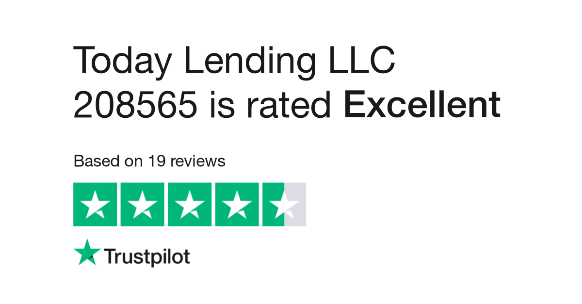 Today Lending LLC 208565 Reviews | Read Customer Service
