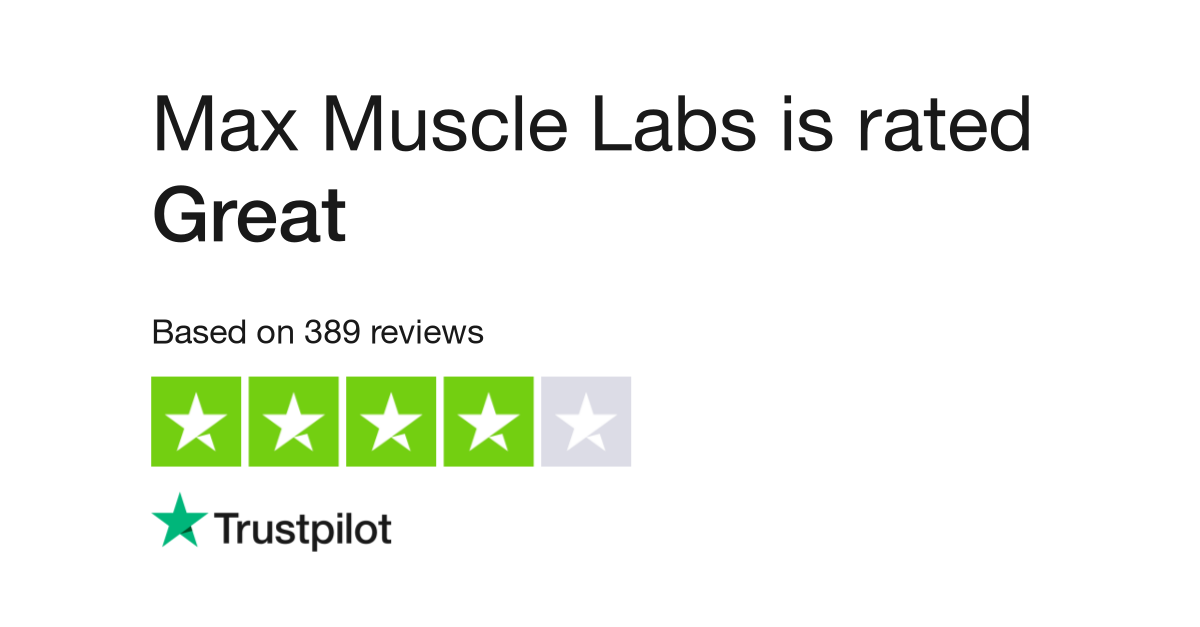 Max Muscle Labs Reviews | Read Customer Service Reviews of