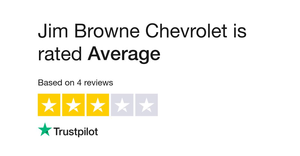 Jim Browne Chevrolet >> Jim Browne Chevrolet Reviews Read Customer Service Reviews