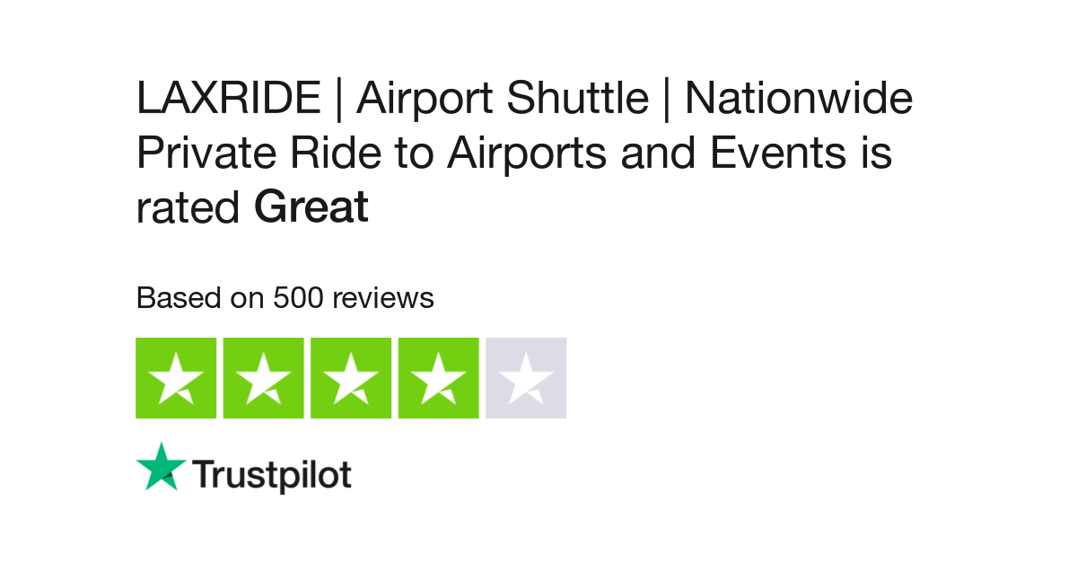 LAXRIDE | Airport Shuttle | Nationwide Private Ride to Airports and