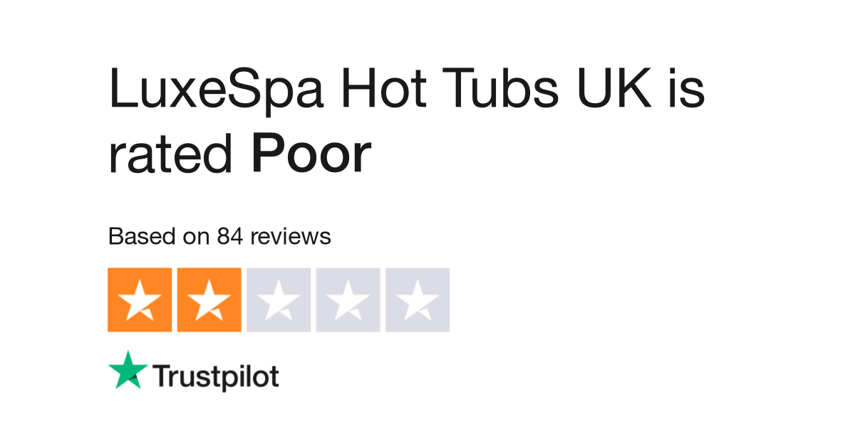 LuxeSpa Hot Tubs UK Reviews | Read Customer Service Reviews of ...