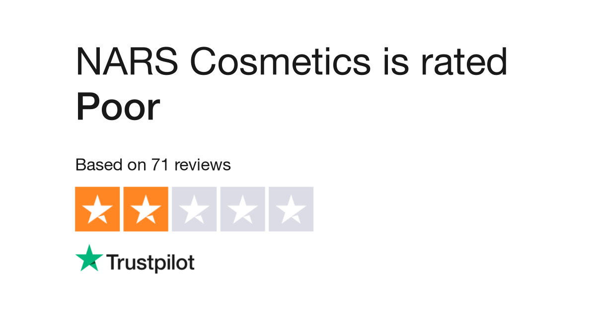 NARS Cosmetics Reviews | Read Customer Service Reviews of