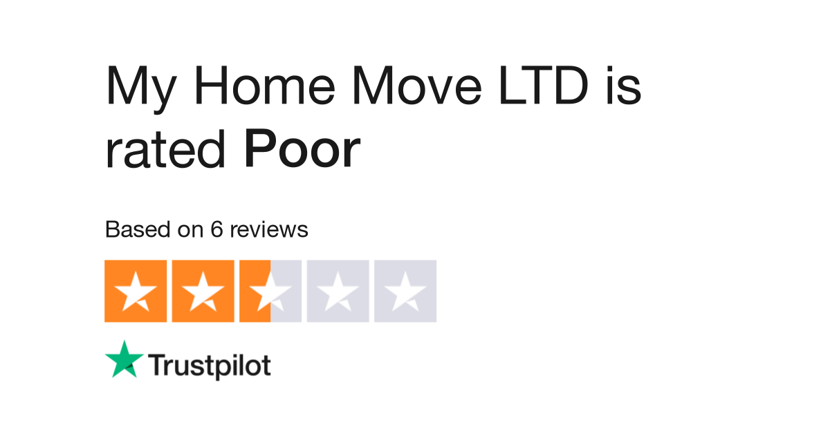 My Home Move LTD Reviews | Read Customer Service Reviews of