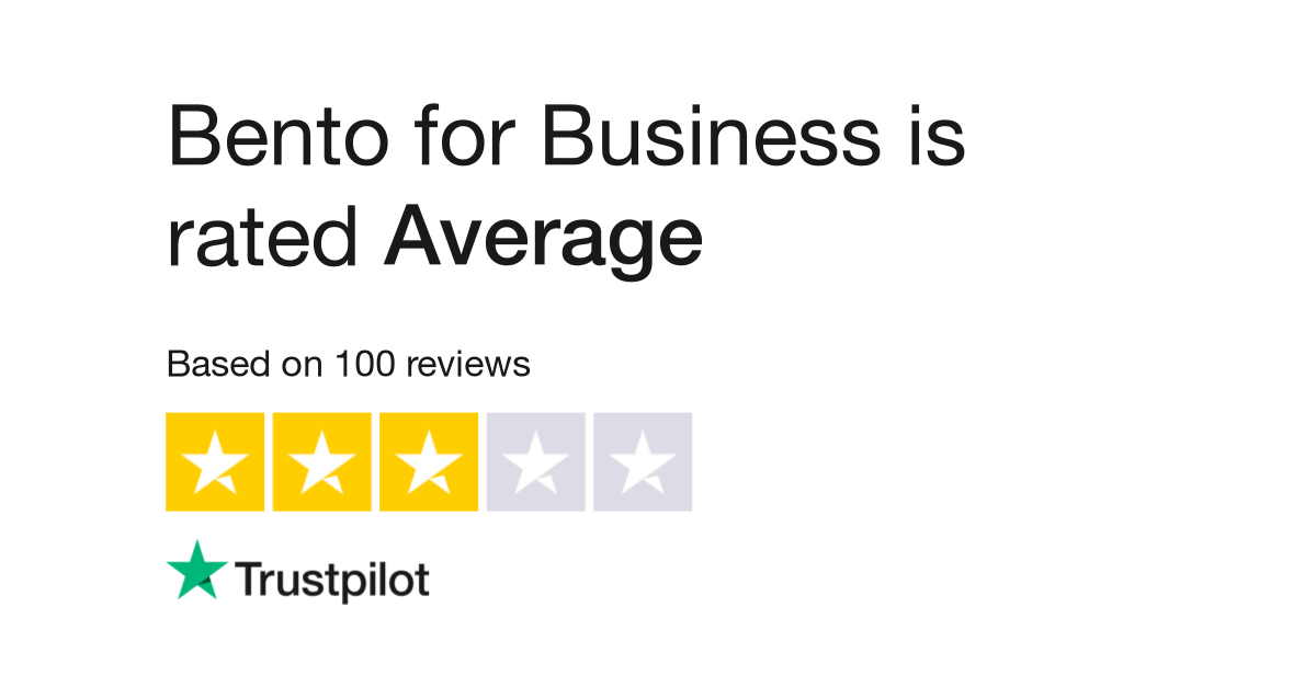 Bento for Business Reviews | Read Customer Service Reviews of ...