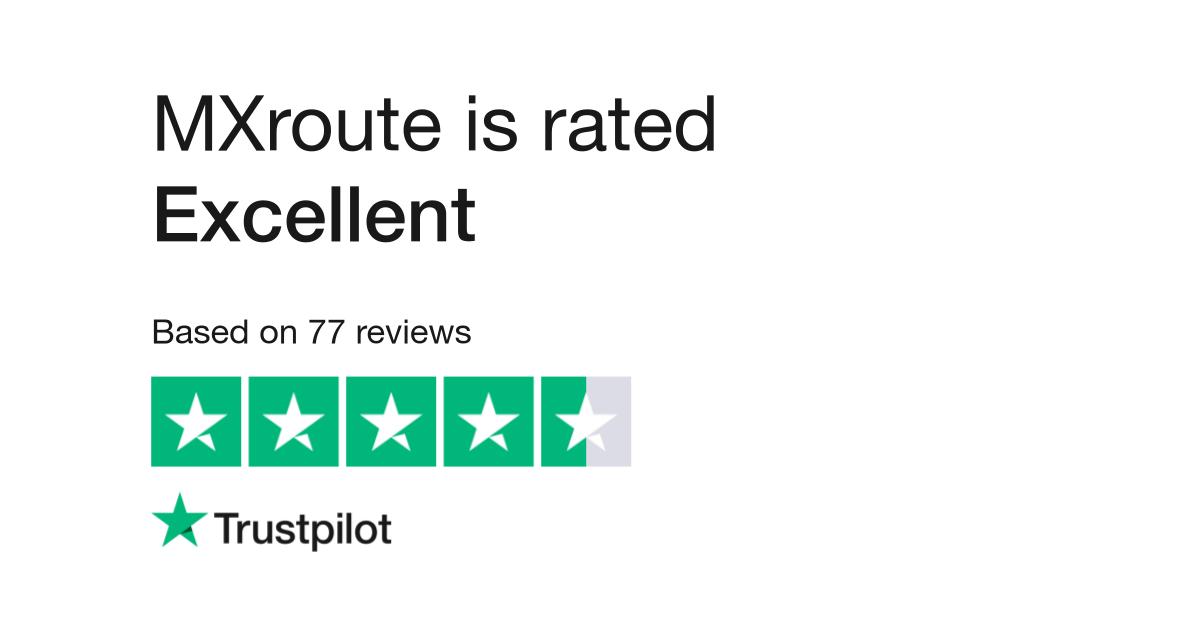 MXroute Reviews | Read Customer Service Reviews of mxroute com