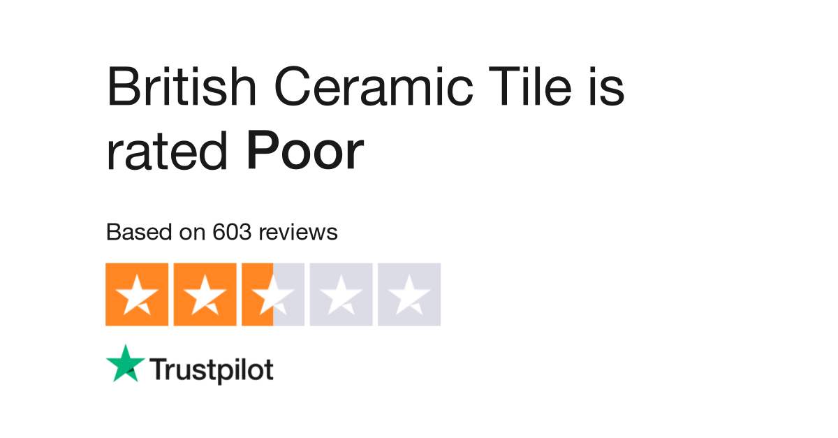 British Ceramic Tile Reviews Read Customer Service Reviews Of Www