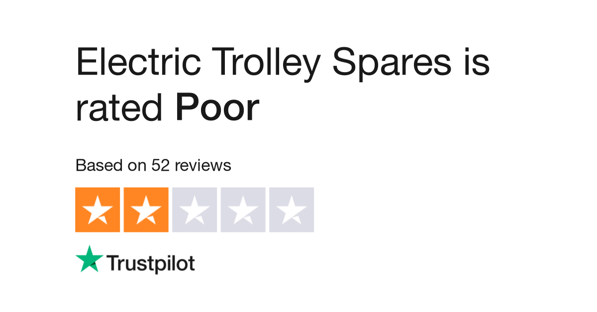 Electric Trolley Spares Reviews | Read Customer Service Reviews of
