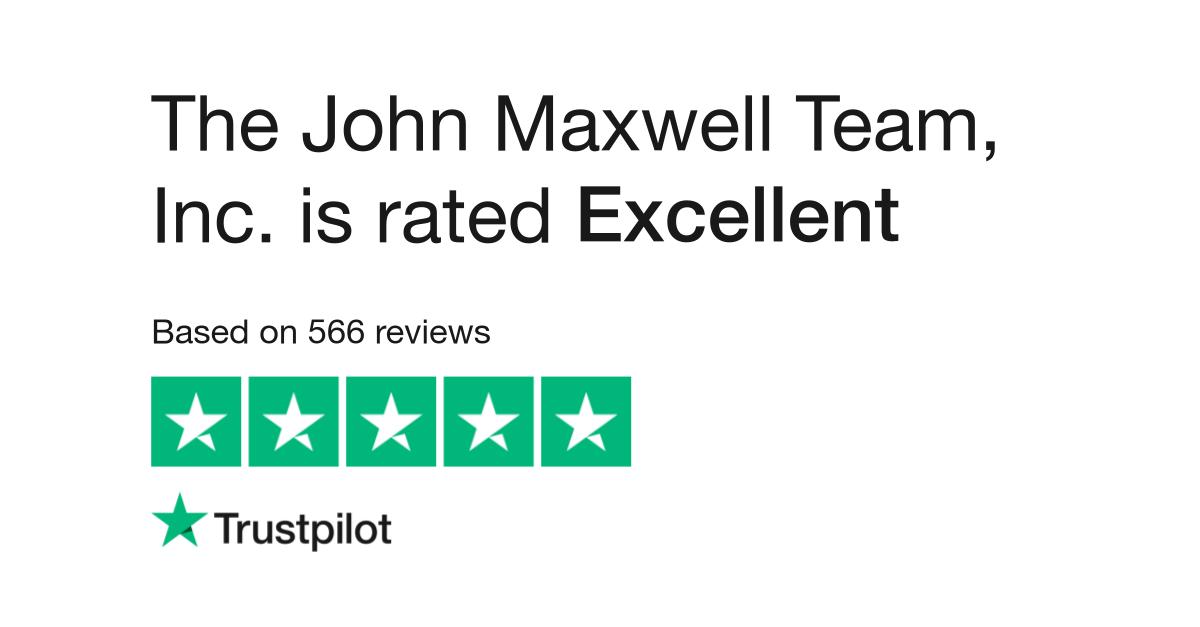 John Maxwell Team Reviews | Read Customer Service Reviews of ...