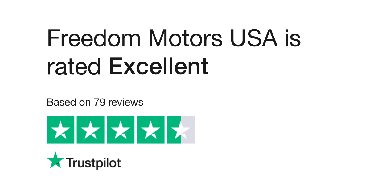 6f4243f365 Freedom Motors USA Reviews