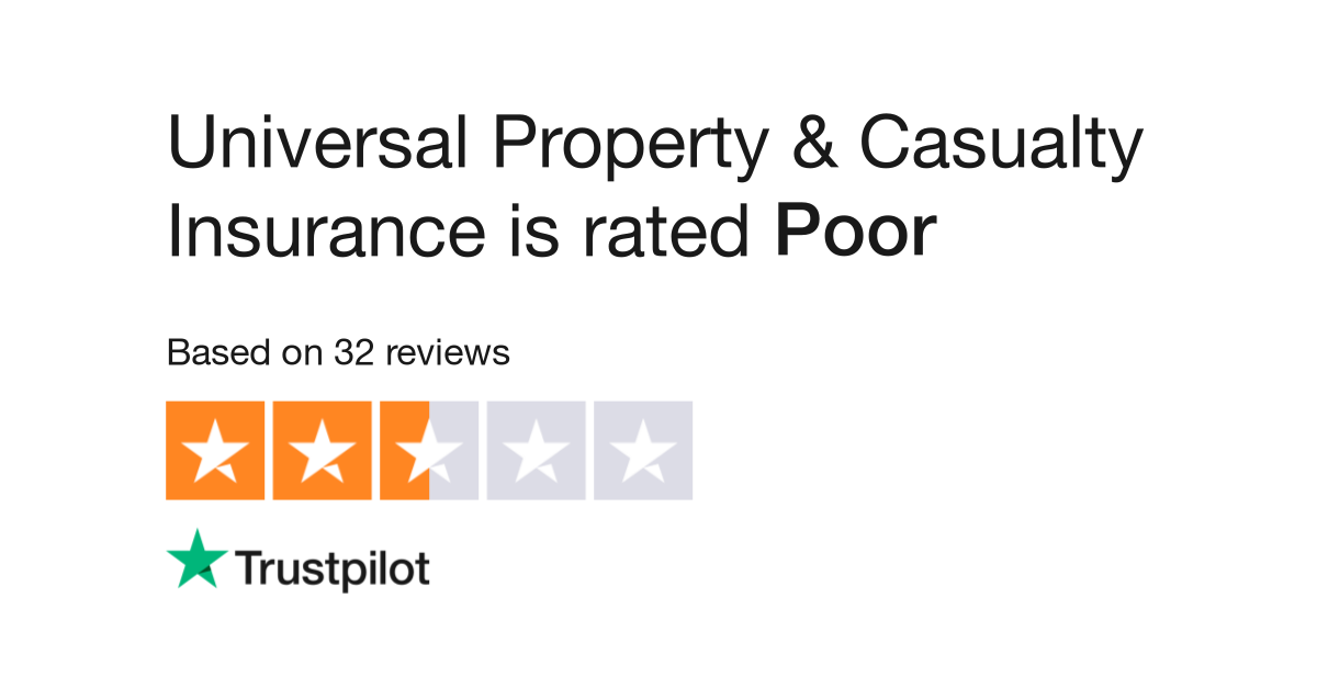 Universal Property And Casualty Company Reviews