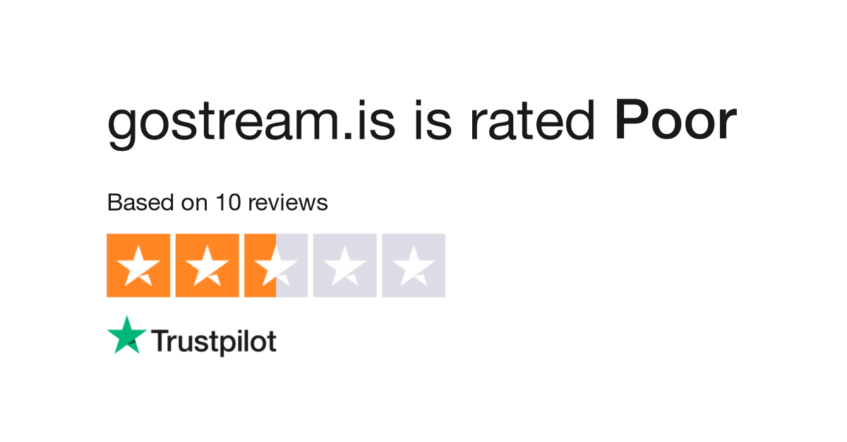 Gostreamis Reviews Read Customer Service Reviews Of Gostreamis