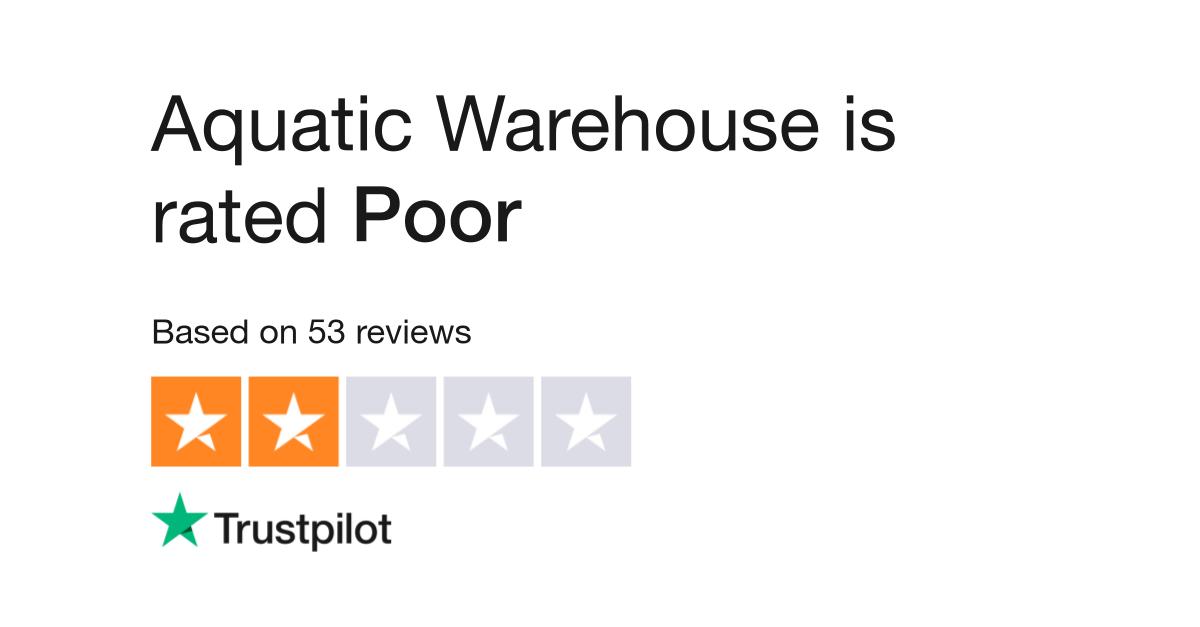 Aquatic Warehouse Reviews | Read Customer Service Reviews of