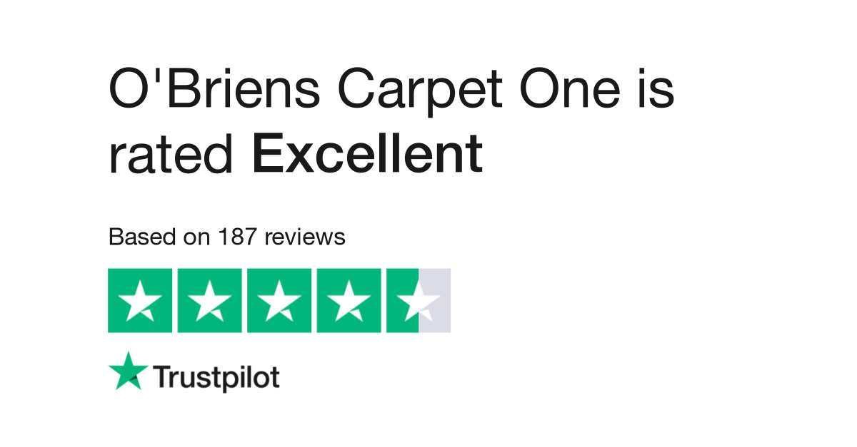 O Briens Carpet One Reviews Read Customer Service Of Obrienscarpetone