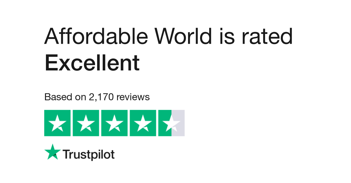 Affordable World Reviews | Read Customer Service Reviews of