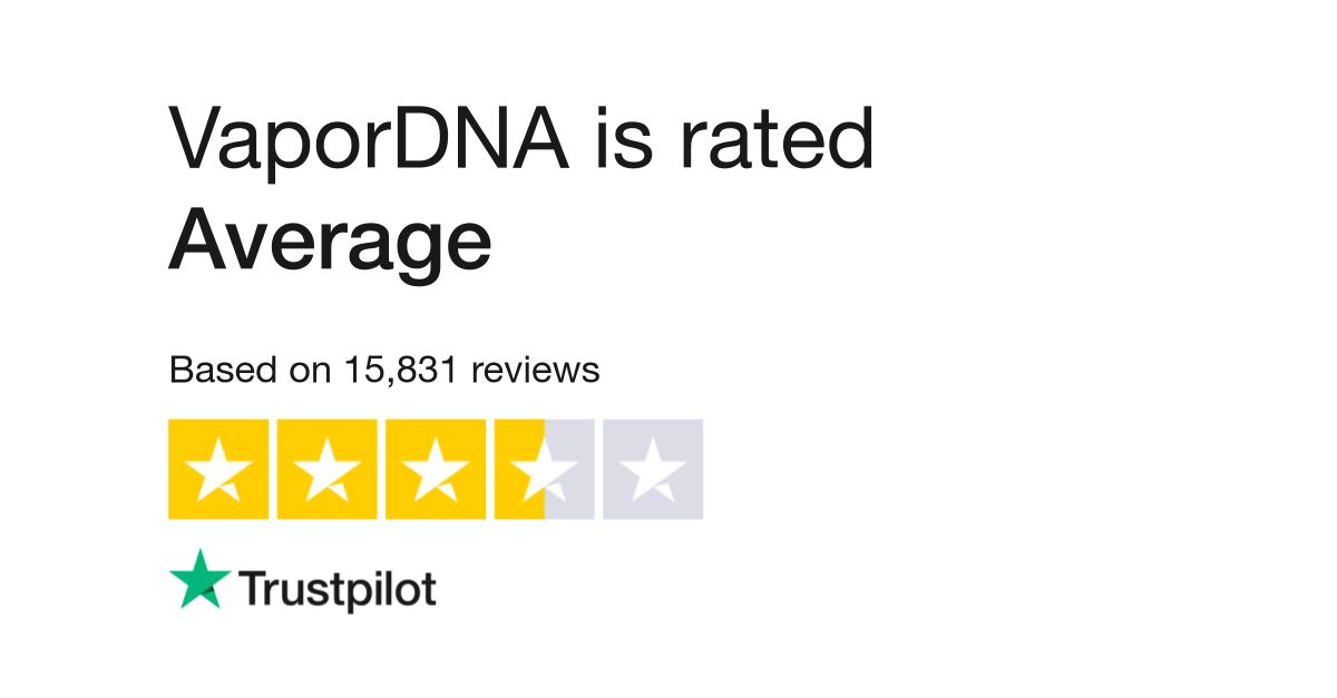 VaporDNA Reviews | Read Customer Service Reviews of www