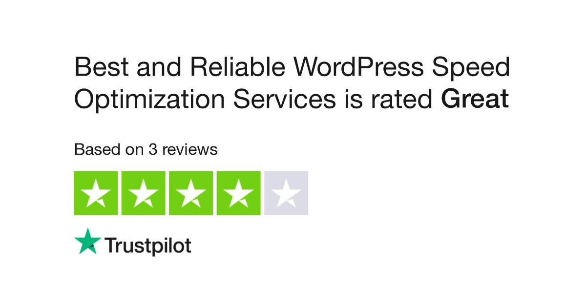 Best and Reliable WordPress Speed Optimization Services Revi