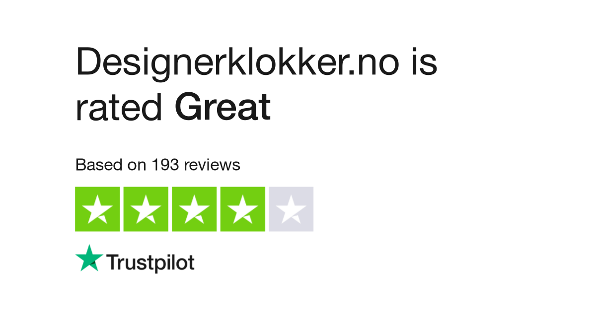 Designerklokker no Reviews | Read Customer Service Reviews of
