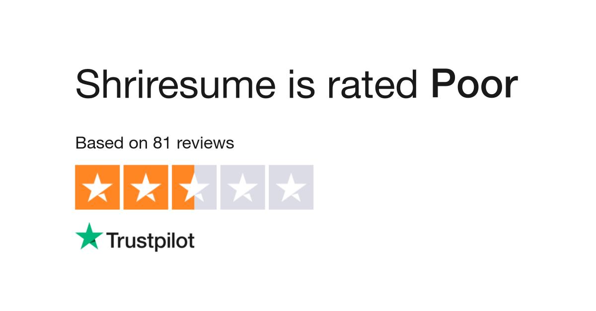 Shriresume Reviews | Read Customer Service Reviews of shriresume.com