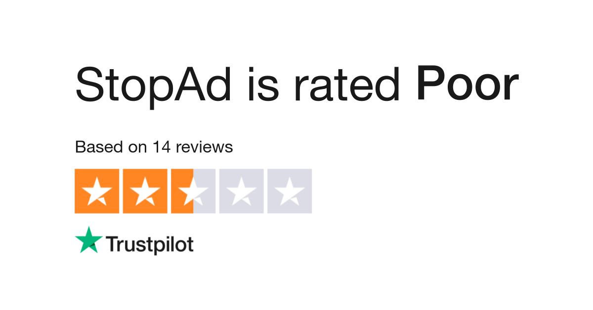 StopAd Reviews   Read Customer Service Reviews of stopad io